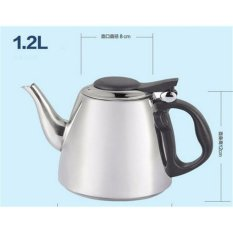 Get Cheap 1 2L Stainless Steel Water Kettle Gas Cooker Induction Cooker Both Use Tea Kettle Intl