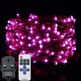 Low Cost 12M 240Led Led Fairy Lights Copper Wire Starry String Lights With Multi Function Remote Controller For Christmas Weddings Parties Decor Intl