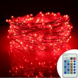 New 12M 240Leds Led Starry Fairy String Light Remote Control Adapter Plug For Holiday Party Christmas Decor Intl