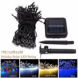 Great Deal 12M100Led Solar Lamp Fairy String Lights Solar Power Outdoor Lighting 8 Modes Waterproof For Garden Light Led Light String Color Intl