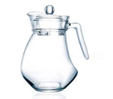 Retail 1 3 L Wave Duckbill Glass Heat Resistant Teapot Flagon