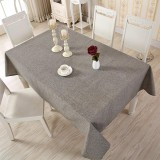 Buy 140 220Cm Classical Solid Color Rectangle Tablecloth Coffee Dining Decor Cover Cotton Linen Plain Table Cloth Intl Cheap On China