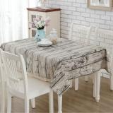 Buy Cheap 140X180 Home Decor Vintage Cotton Linen Tablecloth Dining Table Cloth Wood Bark Intl