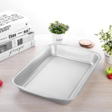Price 14 5 Inches Rectangle Non Stick Toasted Plate Cake Bread Oven Plate Baking Tool Silver Intl On China