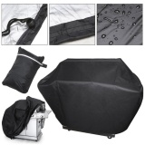 145 61 117Cm Waterproof Bbq Cover Outdoor Rain Barbecue Grill Protector For Gas Charcoal Barbeque Grill Anti Dust Shield Intl Cheap