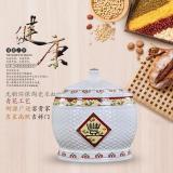 15 Kg Rice Storage Box Tea Cake Cylinder Rice Bucket Coupon