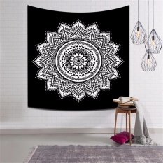 150*130cm Large Home Decorative Bohemia Style Tapestry Wall Hanging Tapestry Tablecloth Summer Beach Towel Beach Mat Blanket - intl