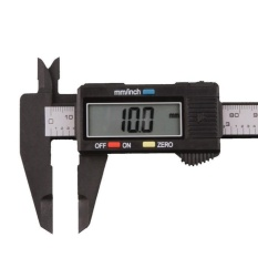 150mm/6inch Lcd Digital Electronic Carbon Fiber Vernier Caliper Gauge Micrometer - Intl By Tideshop.