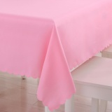 Cheapest 150X210Cm Rectangle Table Cloth Polyester Tablecloths Table Cover For Home Dining Wedding Party White Blue Black Red Pink Purple Intl