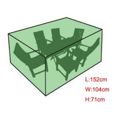 152Cm Waterproof Outdoor Garden Patio Furniture Cover Table Shelter Protect Cube Export Intl For Sale