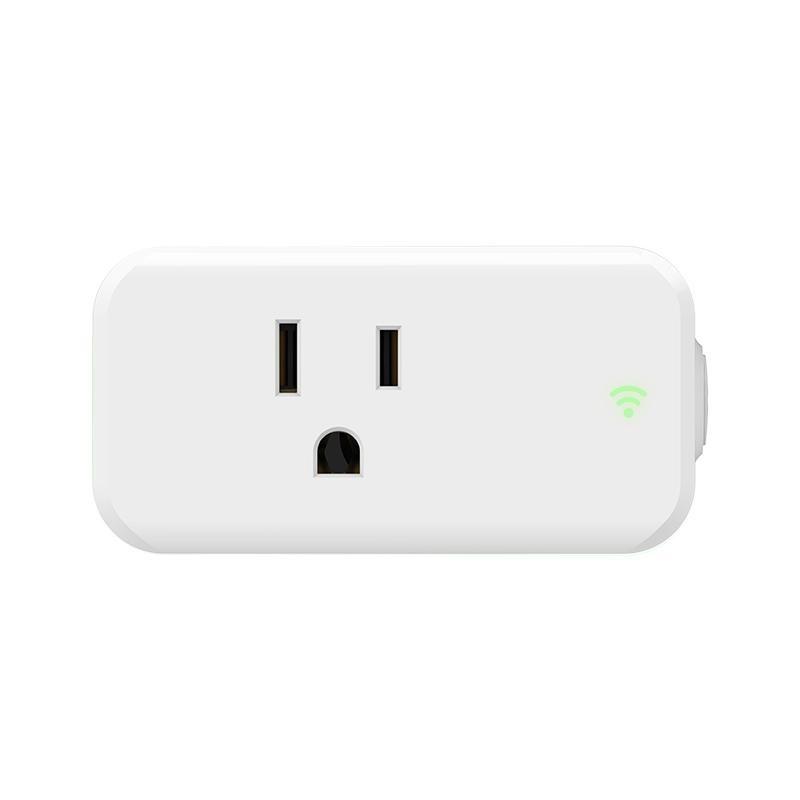 15A Mini Wi-Fi Smart Plug Wireless Wi-Fi Smart Power Switch intelligent Socket - intl