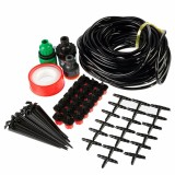 Compare Price 15M Hose 20 Drippers Micro Drip Irrigation System Plant Garden Self Watering Kit Oem On China