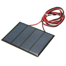 1.5W 12V Mini Solar Panel Small Cell Module Epoxy Charger With 1M Welding Wire