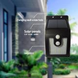 16 Led Super Bright Waterproof Solar Powered Light Motion Sensor Outdoor Garden Patio Path Wall Mount Fence Security Lamp Light Intl On Line