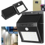 16 Led Waterproof Solar Power Pir Motion Sensor Wall Light Outdoor Garden Lamp Shop