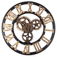 Buy 17 7 Inch 3D Large Wall Clock Retro Decorative Big Gear Design Cheap On China