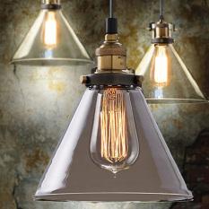 185mm Retro Vintage Loft Pendant Light Lamp Ceiling Industrial Glass Shade