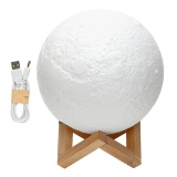 Sale 18Cm Moon Lamp Night Light Touch Control Rechargeable Intl Itimo Branded