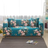 190 230 Cm 3 Seat Stretch Anti Mite Slipcover Sofa Couch Protector Cover Case Home Decor Flower 2 Intl Coupon