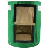1Pc Outdoor Garden Potato Grow Planter Felt Cloth Planting Container Bag With Side Window Hot Intl Coupon Code