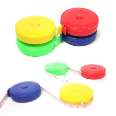 1pc Sewing Retractable Tape Measure 150cm (multicolor) By Welcomehome.