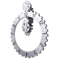 Who Sells 1Pcs Retro Modern Large Wall Art Gear Clock Antique Vintage Black 1Pcs Brand New Intl The Cheapest