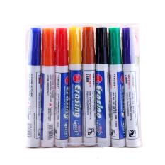 1set 8 Colors Plastic Whiteboard Marker Graffiti Drawing Board Pen For Student School Office By Miss Lan.