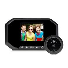Sale 2 0Mp 3 Inch Color Screen No Disturb Peephole Viewer Security Camera Black Intl Vakind Cheap