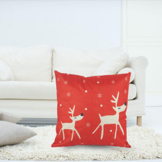 2 Deer Red By Welcomehome.