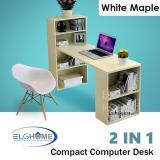 Price Compare 2 In 1 Compact Computer Desk Free Install Delivery