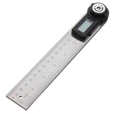 Price Comparisons 2 In 1 Lcd Digital Angle Finder Meter Ruler Measurer 200Mm 360Degree Protractor