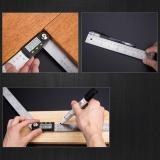 2 In1 Digital Angle Finder Meter Protractor Goniometer Ruler 200Mm 360° Measurer Intl Coupon Code