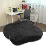 Top 10 2 Pcs Memory Foam Armrest Cushion Chair Mats Pads Elbow Arm Rest Cover Black Intl