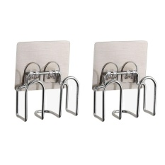 Compare 2 Pcs Stainless Steel Kitchen Sink Caddy And Sponge Holder With Strong Suction For Sponges Scrub Brushes Soap Intl