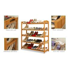 For Sale 2 Tier Multipurpose Bamboo Storage Rack Shoe Rack For Home Kitchen Garden