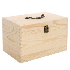 2 Tier Stores 56 Wooden Box Organizer Essential Oil Aromatherapy Container Case - intl