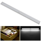 Get Cheap Closet Wardrobe Bedroom Led Usb Rechargeable Long Aluminum Night Light With Ir Detector Motion Sensor