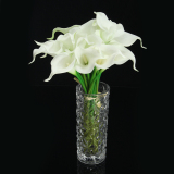 Buy 20 Heads Wedding Flower Latex Real Touch Silk Calla Lily Flower Wedding Decor Intl Online