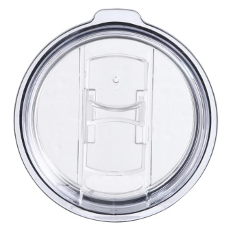 20 oz and 30 oz Spill Proof and Splash Resistant Lid for Yeti Rambler (White)