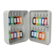 20 Pcs Keys Metal Cabinet Key Box [Epoxy Coated]