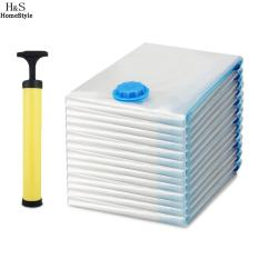 Get The Best Price For 20 Vacuum Compressed Storage Bag With Pump Set