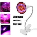 Discount 200 Led 20W Led Plant Grow Light Lamp Bulbs Clip Flower Growing Green House Eu Plug Intl Not Specified China