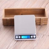 2000G 1G Portable Kitchen Sacles Mini Electronic Digital Scales Pocket Case Postal Kitchen Jewelry Weight Balance Digital Scale Intl Oem Discount