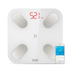 Price 2016 New Smart Weight Scale Bluetooth 4 Body Mass Monitor Health Scale Health Analysis White W1609 Intl Oem China