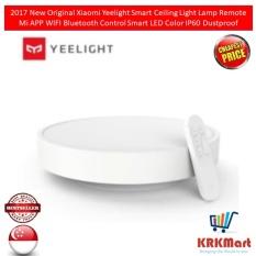 Price 2017 New Original Xiaomi Yeelight Smart Ceiling Light Lamp Remote Mi App Wifi Bluetooth Control Smart Led Color Ip60 Dustproof Xiaomi Online