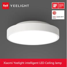 Cheapest 2017 New Original Xiaomi Yeelight Smart Ceiling Light Lamp Remote Mi App Wifi Bluetooth Control Smart Led Color Ip60 Dustproof Online