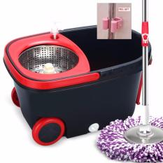 Rc Global 2018 Modern Microfiber Mop Spin Mop Bucket Sets 摩登超级旋转拖把组合 Deluxe Model Free Shipping