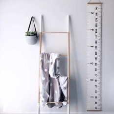 20*200cm Nordic Style Kids Room Wall Decorative Hanging Picture Childrens Height Ruler Wall Hangings Photography Props - intl
