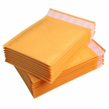 Buy 20 50 100Pcs 25X30Cm Kraft Bubble Mailers Padded Paper Envelopes Wholesale Free Ship Intl M A K Cheap
