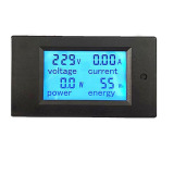 Compare Price 20A Ac Digital Power Panel Meter Monitor Power Energy Voltmeter Ammeter Intl Vakind On China